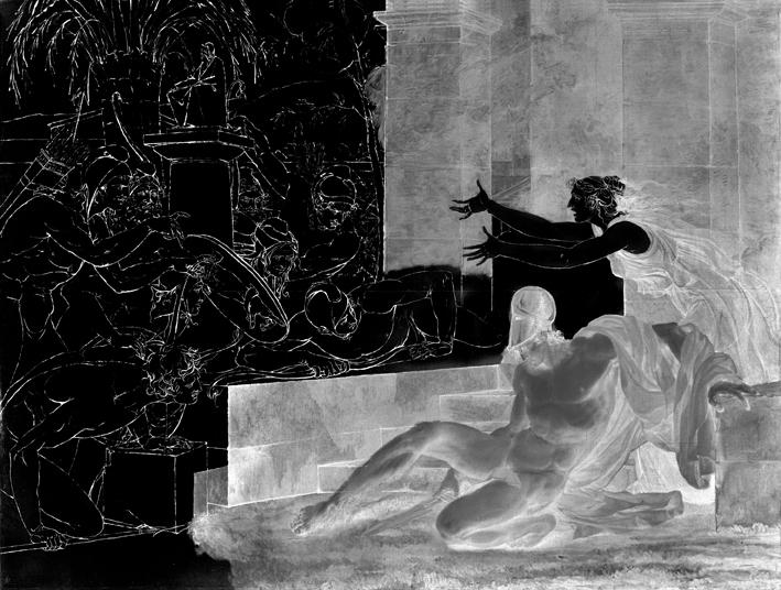 La mort d'Alcibiade